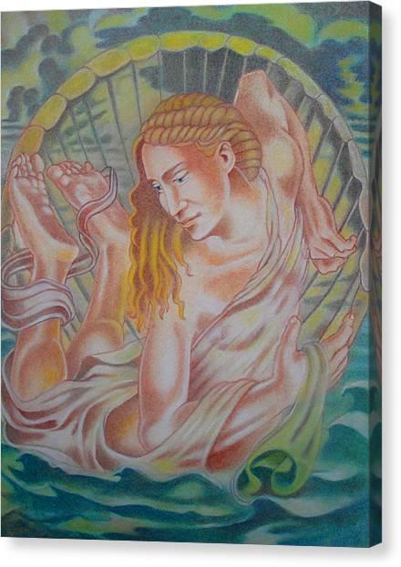 Ortus Veneris  Canvas Print