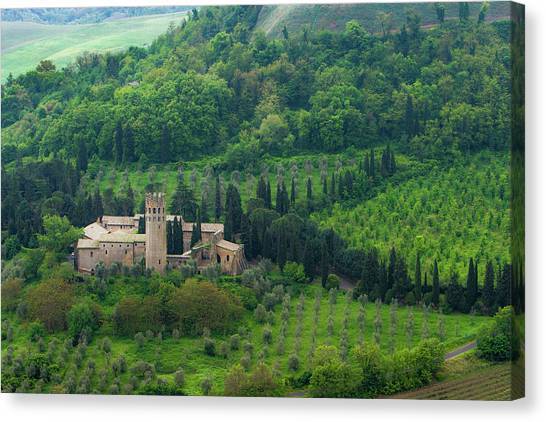 Orvieto Castle Canvas Print