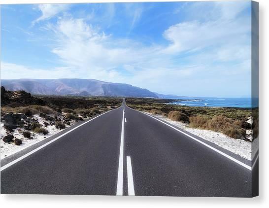 Lanzarote Canvas Print - Orzola - Lanzarote by Joana Kruse