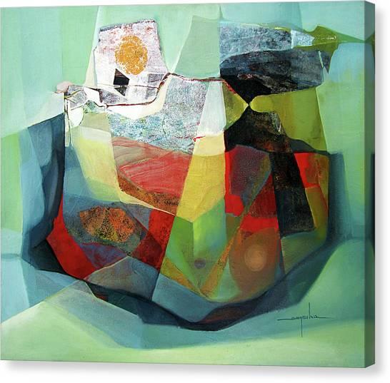 Bolivian Canvas Print - Os1976ar001ba Cosmic Shapes  25x29.5 by Alfredo Da Silva