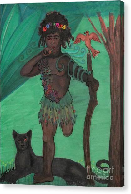 Osain Canvas Print
