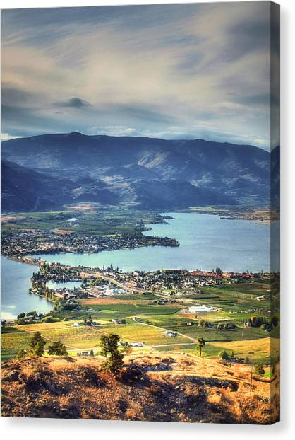 Osoyoos Lake 2 Canvas Print