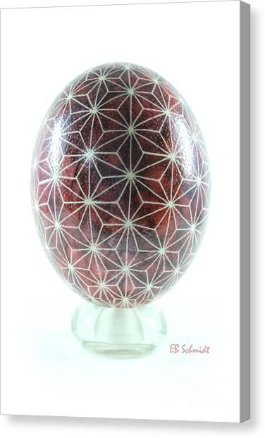 Ostrich Egg Od001 Canvas Print