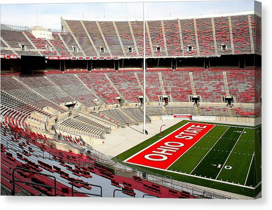Osu Football Stadium Canvas Print