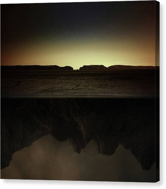 Caves Canvas Print - Other Side by Zoltan Toth