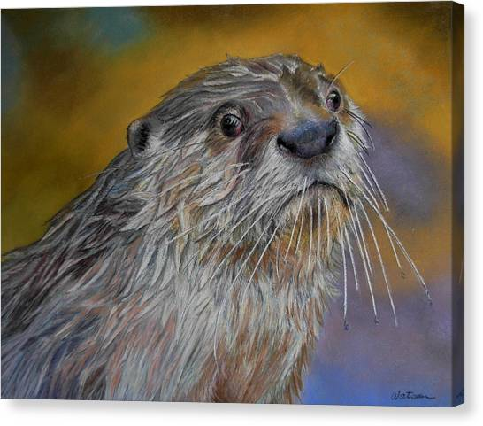 Otter Or Not Canvas Print