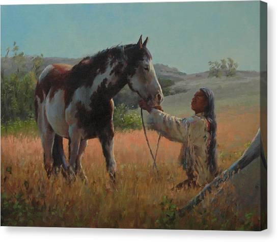 Ottumwa Dawn Canvas Print by Jim Clements