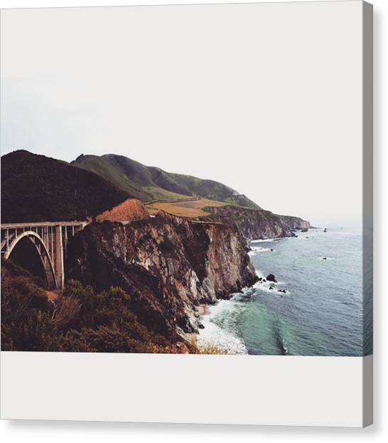 Scotty Canvas Print - Our 12 Hour Coast Trip From Santa by Scotty Brown