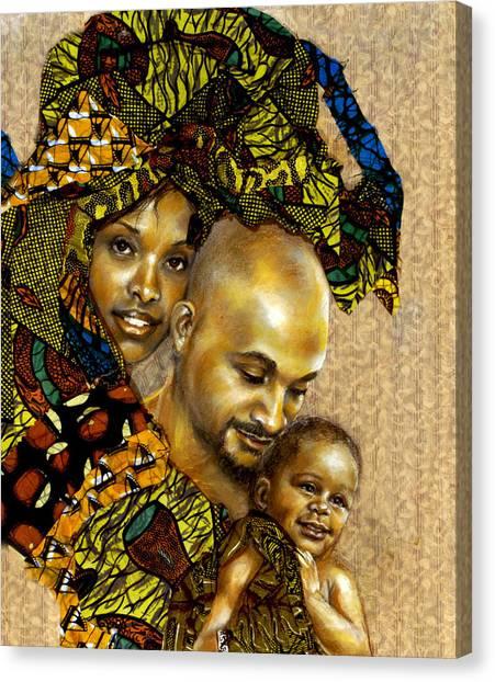 Our Children Canvas Print