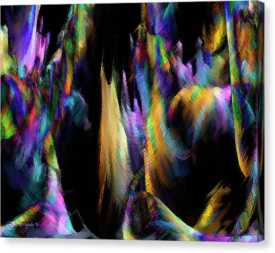 Our Colorful Planet Canvas Print