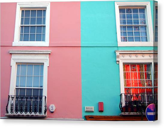 Our House Is A Very Very Very Fine House Canvas Print by Jez C Self
