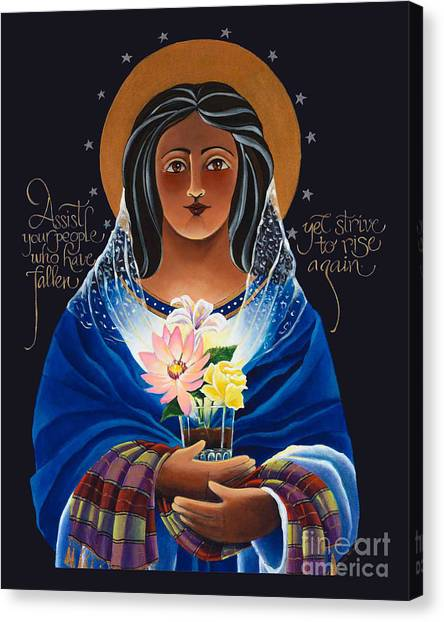 Our Lady Of Light - Help Of The Addicted - Mmlol Canvas Print