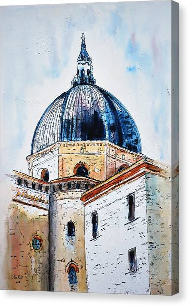 Our Lady Of Loreto I Canvas Print by Neva Rossi