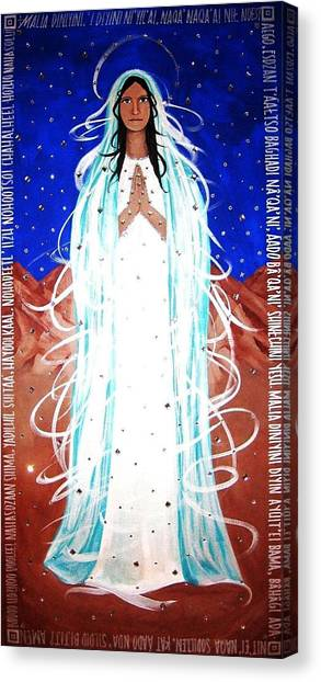 Our Lady Of Lucid Dreams Canvas Print
