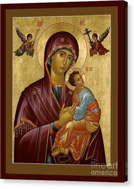 Our Lady Of Perpetual Help - Rloph Canvas Print