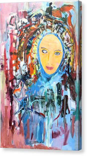 Our Lady Of The Left Eye Canvas Print