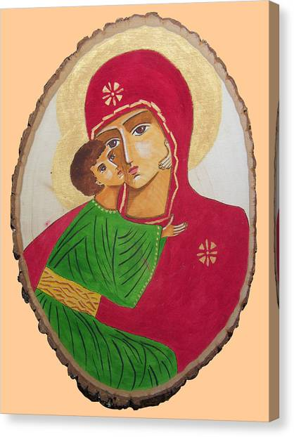 Our Lady Of Vladimir Canvas Print