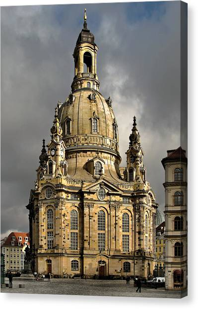 Our Lady's Church Of Dresden Canvas Print
