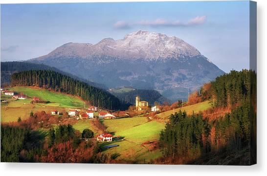 Our Little Switzerland Canvas Print