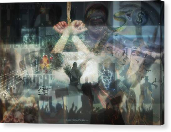 Canvas Print - Our Monetary System  by Eskemida Pictures