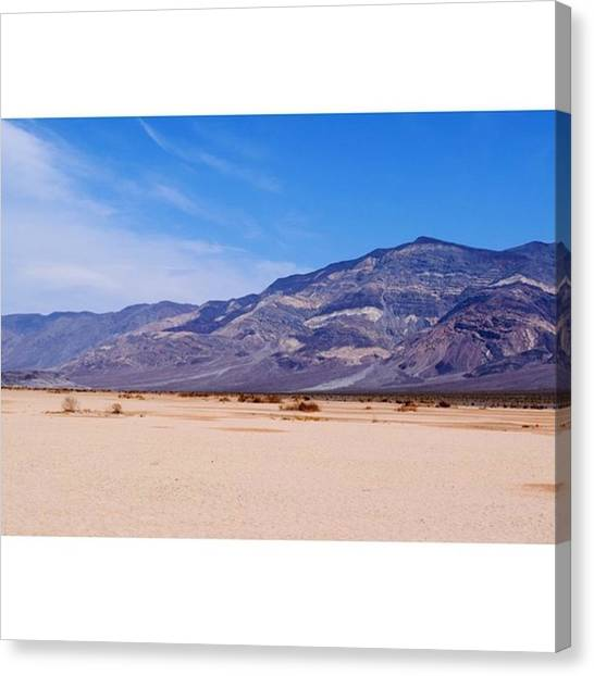Scotty Canvas Print - Our Road Trip Has Landed Us In Death by Scotty Brown