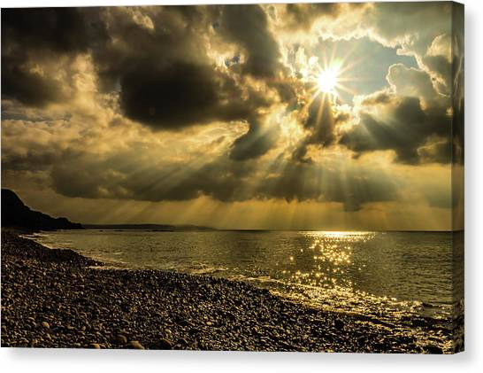 Canvas Print featuring the photograph Our Star by Nick Bywater