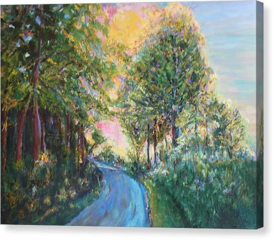 Our Trail Canvas Print