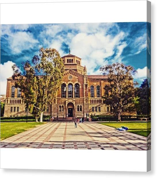 Pac 12 Canvas Print - Our Ucla By M. Stiefvater #highdef by Mary Alexandra Stiefvater
