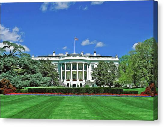 Our White House Canvas Print