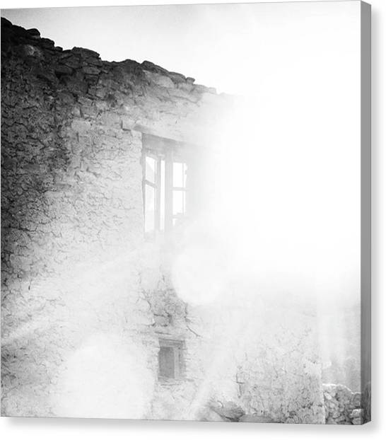 Repairs Canvas Print - Our Work Is Redemptive Where We Build by Aleck Cartwright
