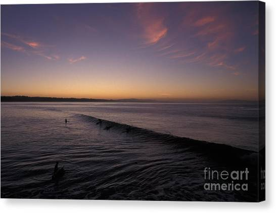 Out Before Dawn Canvas Print by Stan and Anne Foster