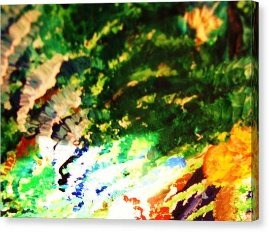 Out  Of Mind  Canvas Print by HollyWood Creation By linda zanini