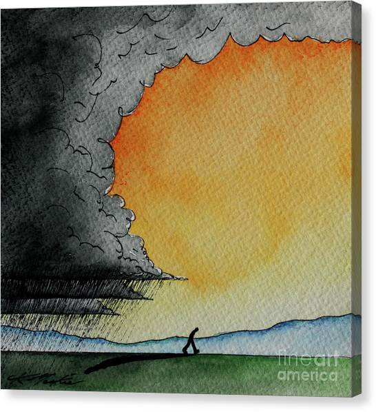 Out Of The Storm Iv Canvas Print