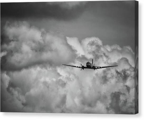 Paper Planes Canvas Print - Out Of The Storm by Martin Newman