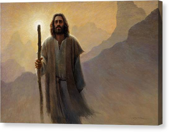 Religious Canvas Print - Out Of The Wilderness by Greg Olsen