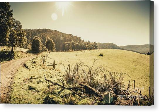 No People Canvas Print - Outback Bound by Jorgo Photography - Wall Art Gallery