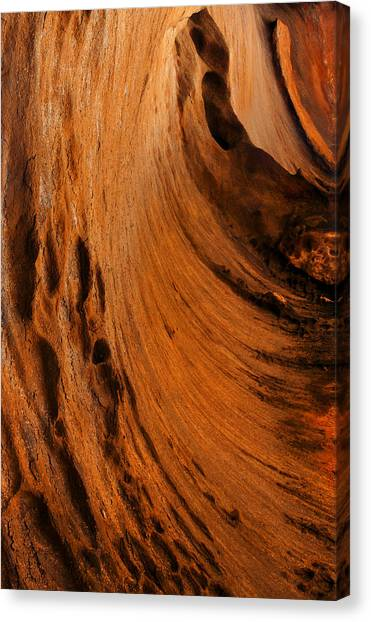 Caverns Canvas Print - Outback Cavern by Mike  Dawson