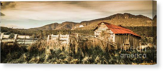 Homestead Canvas Print - Outback Obsolescence  by Jorgo Photography - Wall Art Gallery