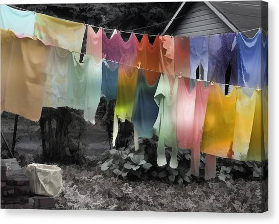 Outdoor Dry Cycle Canvas Print