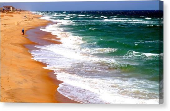 Outer Banks Beach North Carolina Canvas Print