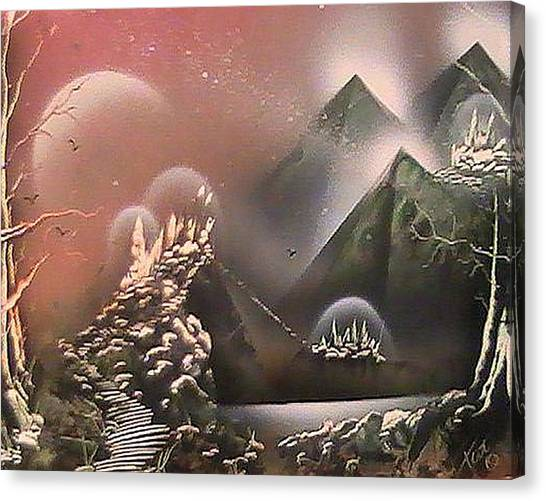 Outer Limits Canvas Print by My Imagination Gallery