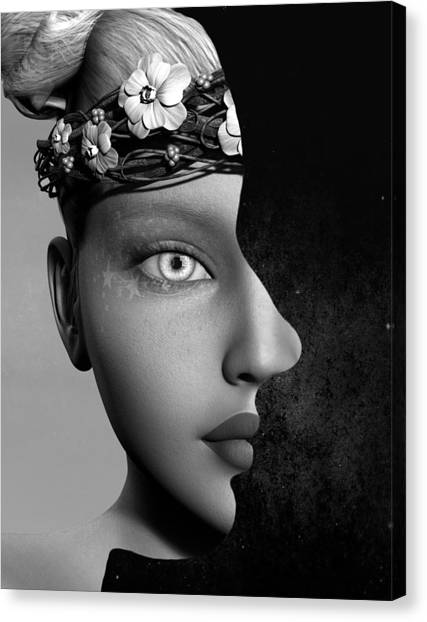 Outer Persona Canvas Print