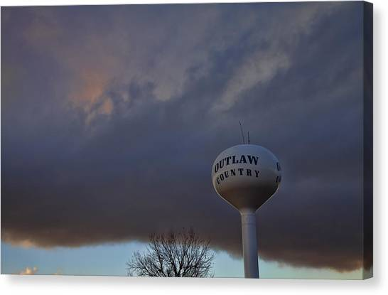 Marlow Canvas Print - Outlaw Country  by Toni Hopper