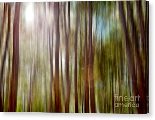 Abstract Digital Art Canvas Print - Outnumbered by Az Jackson