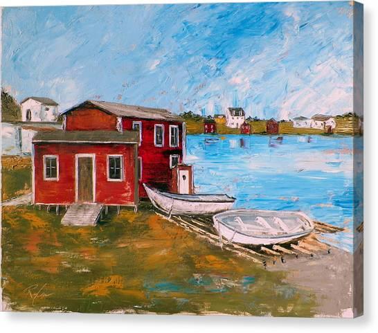 Outport 1 Canvas Print