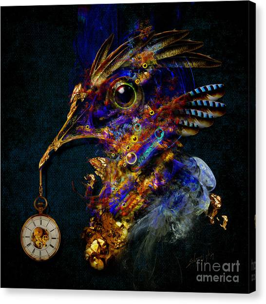 Outside Of Time Canvas Print