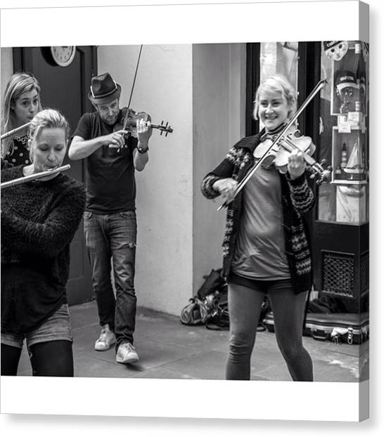 Flutes Canvas Print - Outtake From Upcoming Project by Martina Rigoli