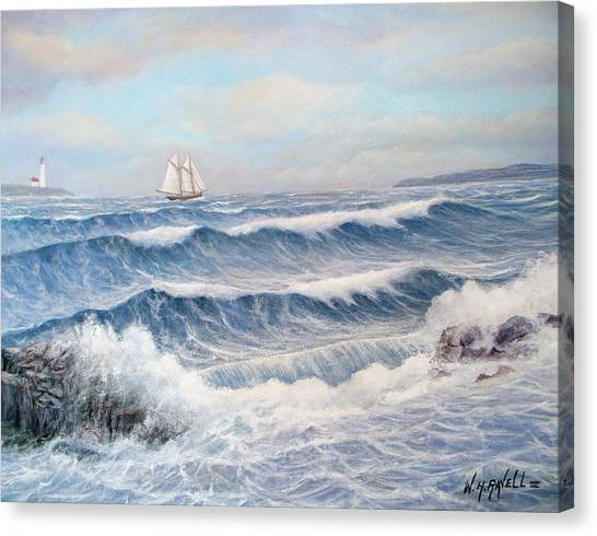 Outward Bound Canvas Print by William H RaVell III