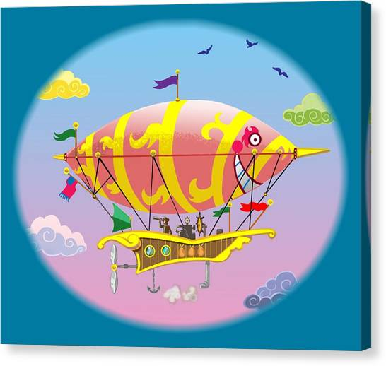 Dreamship II Canvas Print