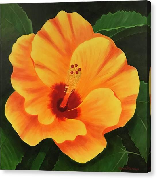 Over-achiever Canvas Print